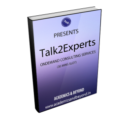 Talk2Experts - Book an appointment (30 mins slot)